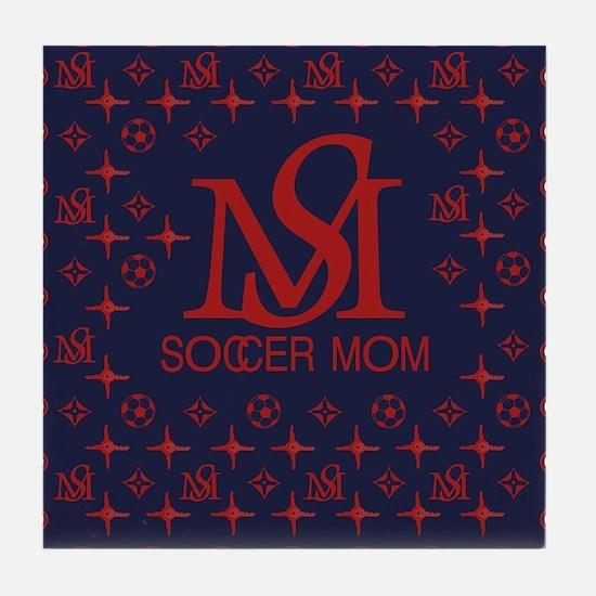 LouisV Soccer Mom Tile Coaster