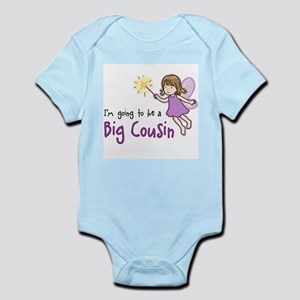 Big Cousin to be - Fairy Infant Bodysuit