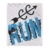 Cross country Fleece Blankets