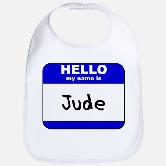 hello my name is jude  Bib