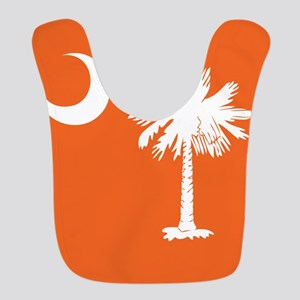 SC Palmetto Moon State Flag Orange Bib