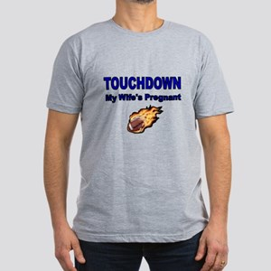 TOUCHDOWN. My Wifes Pregnant T-Shirt
