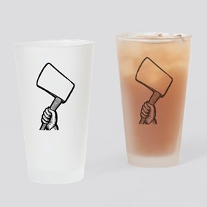Hatchet Drinking Glass