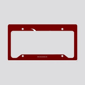 SC Palmetto Moon State Flag Garnet License Plate H