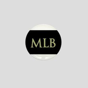 Monogram in Large Letters Mini Button