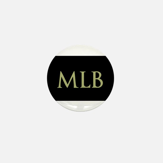 Monogram in Large Letters Mini Button