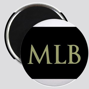 Monogram in Large Letters Magnets