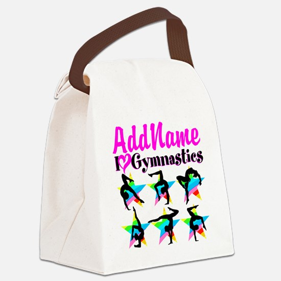 AWESOME GYMNAST Canvas Lunch Bag