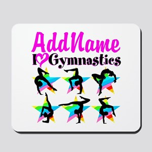 AWESOME GYMNAST Mousepad