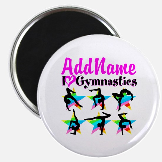 """AWESOME GYMNAST 2.25"""" Magnet (100 pack)"""