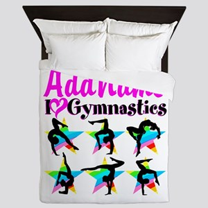 AWESOME GYMNAST Queen Duvet