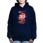 Taekwondo Dragon Women's Hooded Sweatshirt