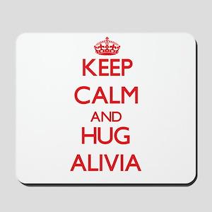 Keep Calm and Hug Alivia Mousepad