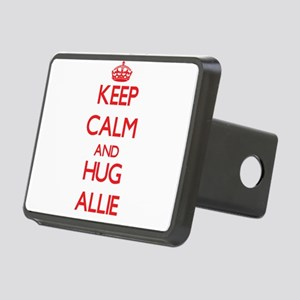 Keep Calm and Hug Allie Hitch Cover