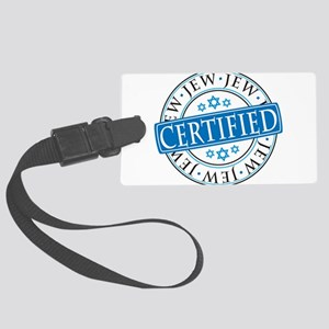 Certified Jew Luggage Tag