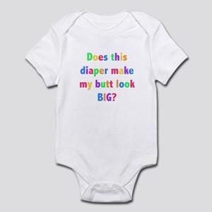 Diaper Big Butt? Infant Bodysuit