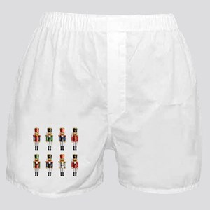 Nutty Nutcracker Toy Soldiers Boxer Shorts