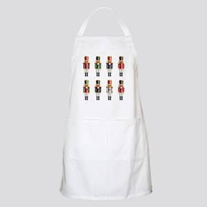 Nutty Nutcracker Toy Soldiers Apron
