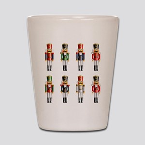 Nutty Nutcracker Toy Soldiers Shot Glass