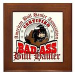 American Bull Haulers Association Framed Tile