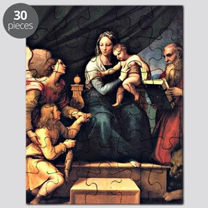 Raphael's The Madonna of the Fish Puzzle