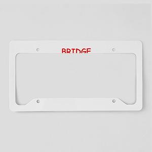 BRIDGE License Plate Holder