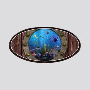 Underwater Love Porthole Patches