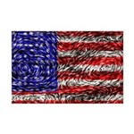 Van Gogh's Flag of the US Mini Poster Print