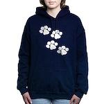 Animal Paw Prints Hooded Sweatshirt