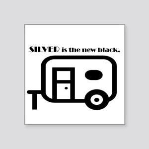Silver is the new Black Sticker