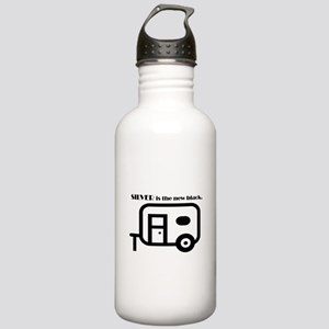 Silver is the new Black Water Bottle