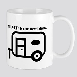 Silver is the new Black Mugs