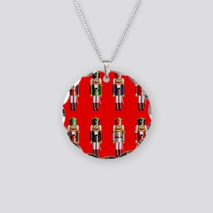 Nutty Nutcrackers Necklace Circle Charm