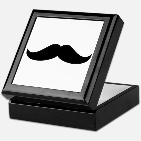 Cool Mustache Beard Keepsake Box