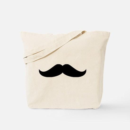 Cool Mustache Beard Tote Bag