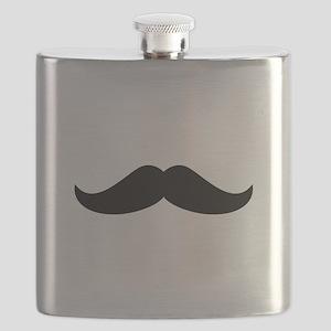 Cool Mustache Beard Flask