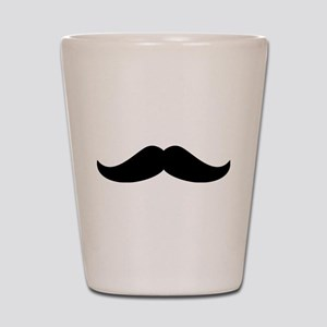 Cool Mustache Beard Shot Glass