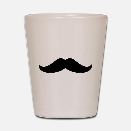 Cool Mustache Beard Shot Glass
