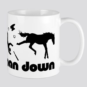 man down horseshoer Mugs