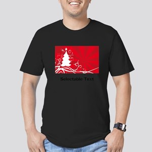 red chritmas selectable text T-Shirt