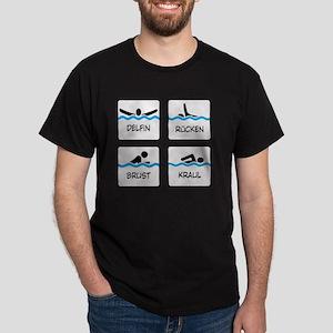 schwimmen Dark T-Shirt