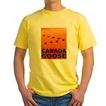 Canada Goose Yellow T-Shirt