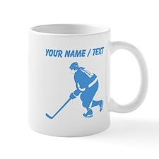 Custom Hockey Player Mugs