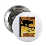 Graphic Bobcat Button