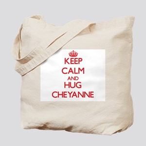 Keep Calm and Hug Cheyanne Tote Bag