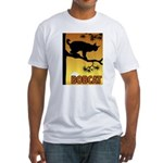 Graphic Bobcat Fitted T-Shirt