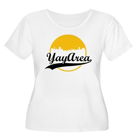 Yay Area Women's Plus Size Scoop Neck T-Shirt