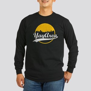 Yay Area Long Sleeve Dark T-Shirt
