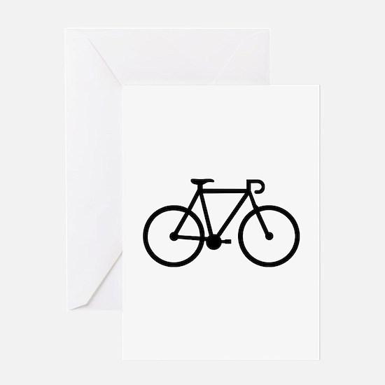 Bicycle bike Greeting Card