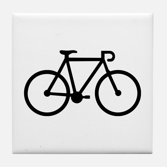 Bicycle bike Tile Coaster